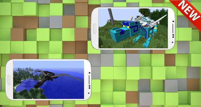 Mod Dragon Mount for mcpe 2017 screenshot 2