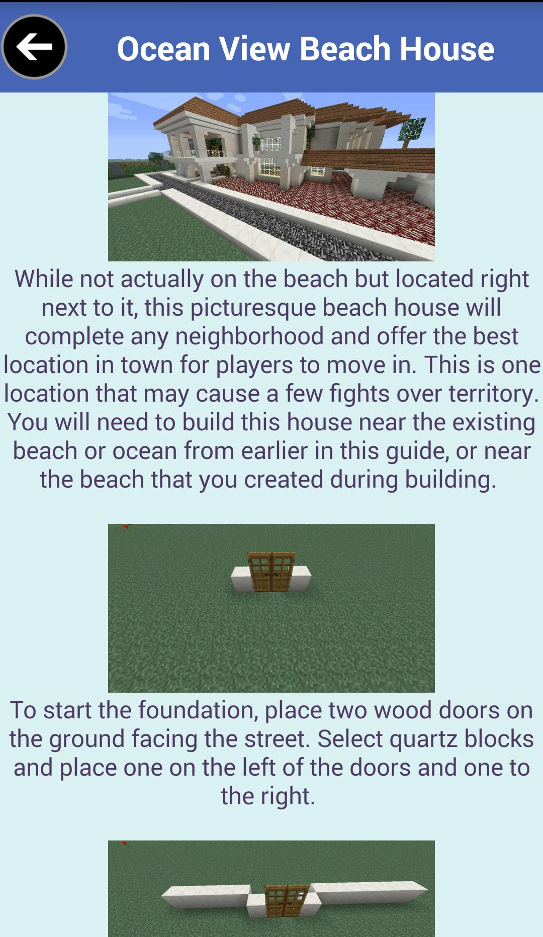 Building Guide Free Minecraft For Android Apk Download