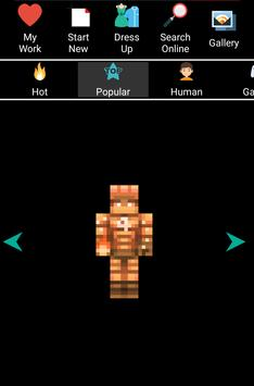 Skin Editor For Minecraft 3D screenshot 1