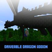 Mod Driveable Dragon for MCPE icon