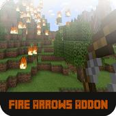 Mod Fire Arrows for MCPE icon