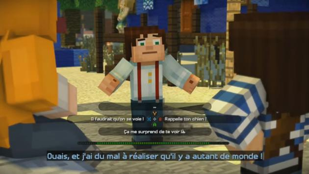 Guide Minecraft Story Mode apk screenshot