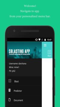 Smart Blasting APP screenshot 1