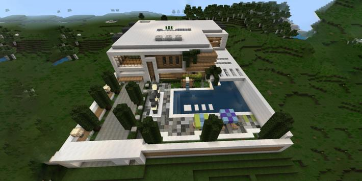 Modern House For Minecraft Pe Apk Download Free Tools App For
