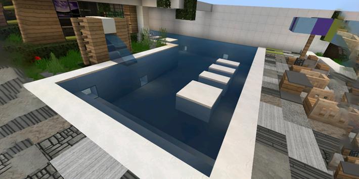 Modern House For Minecraft PE Apk Screenshot