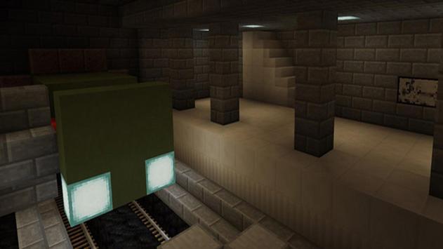 Darkest Halls Map MineCraft poster