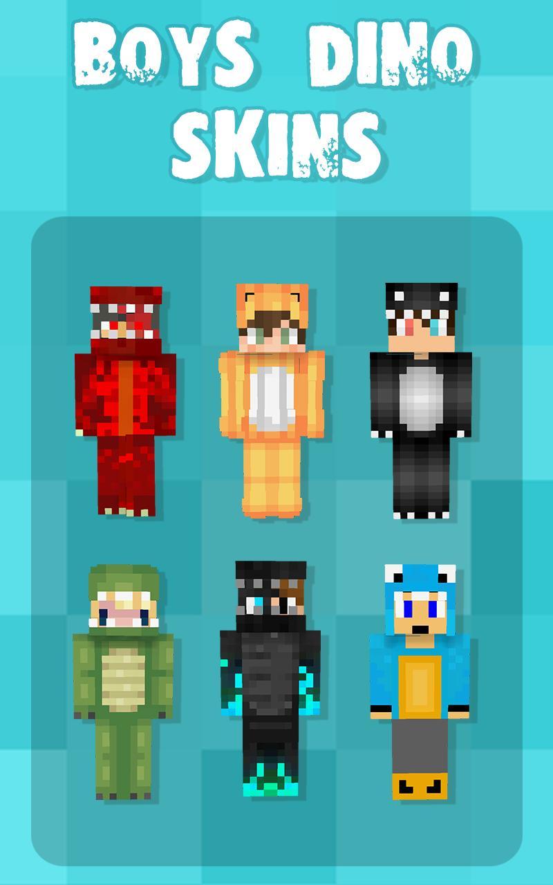 Dino Skins for Minecraft para Android - APK Baixar