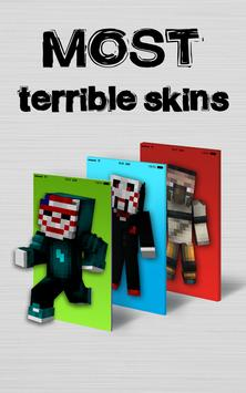 Horror Skins for Minecraft PE poster