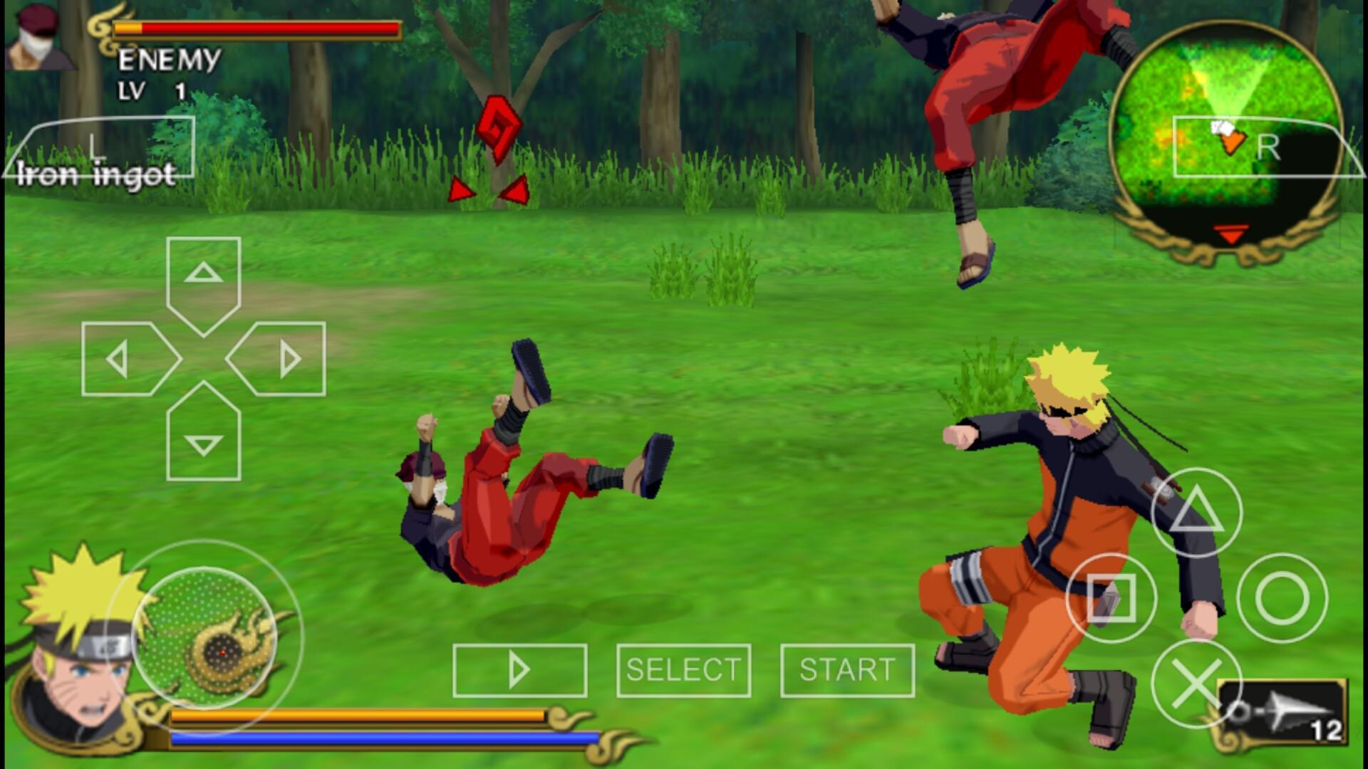 Naruto Games: Ultimate Ninja Shippuden Storm 4 for Android