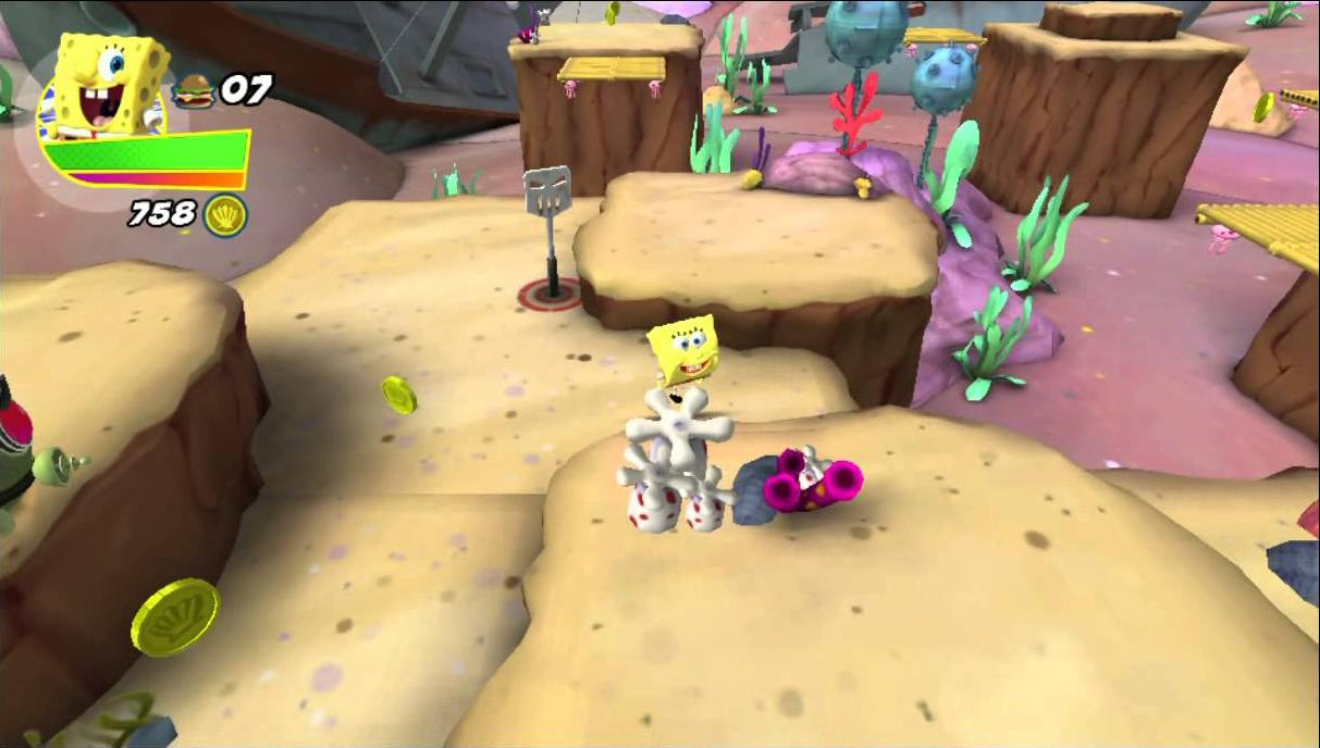 Spongebob Heroepants Games: Truth or Square for Android