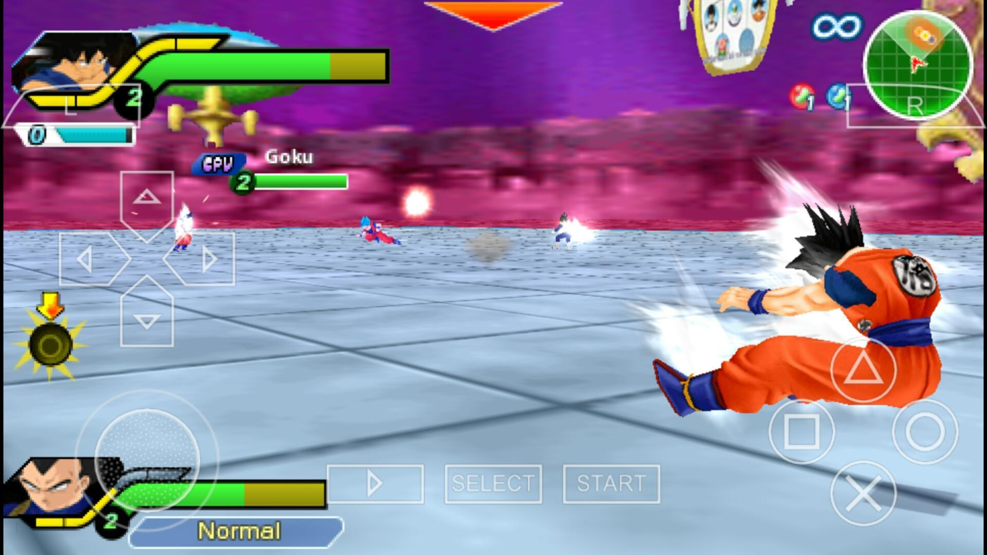 Ultimate Tenkaichi Tag Team For Android Apk Download