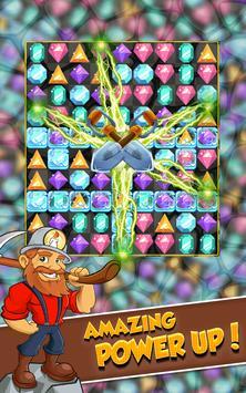 Miner Tycoon Gems: idle Match 3 screenshot 5