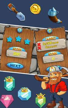 Miner Tycoon Gems: idle Match 3 screenshot 9