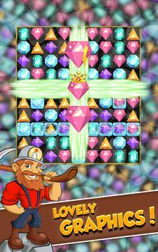 Miner Tycoon Gems: idle Match 3 screenshot 1