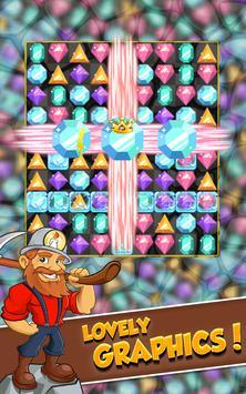 Miner Tycoon Gems: idle Match 3 screenshot 2