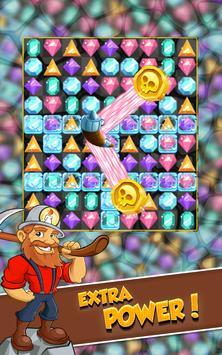 Miner Tycoon Gems: idle Match 3 screenshot 3