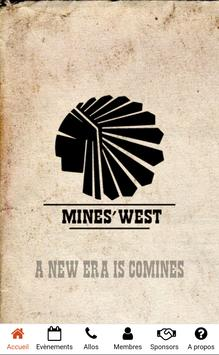 Mines'West poster