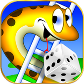 Snakes And Ladders Dice Board Game icon