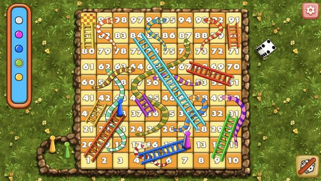 Snakes And Ladders Dice Board Game screenshot 1