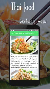 Thai Food Easy Cooking Recipes screenshot 1