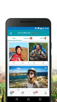 Backpacker Traveler Community poster