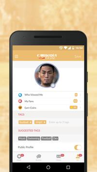 Cambodia Social - Online Dating App for Cambodians apk screenshot