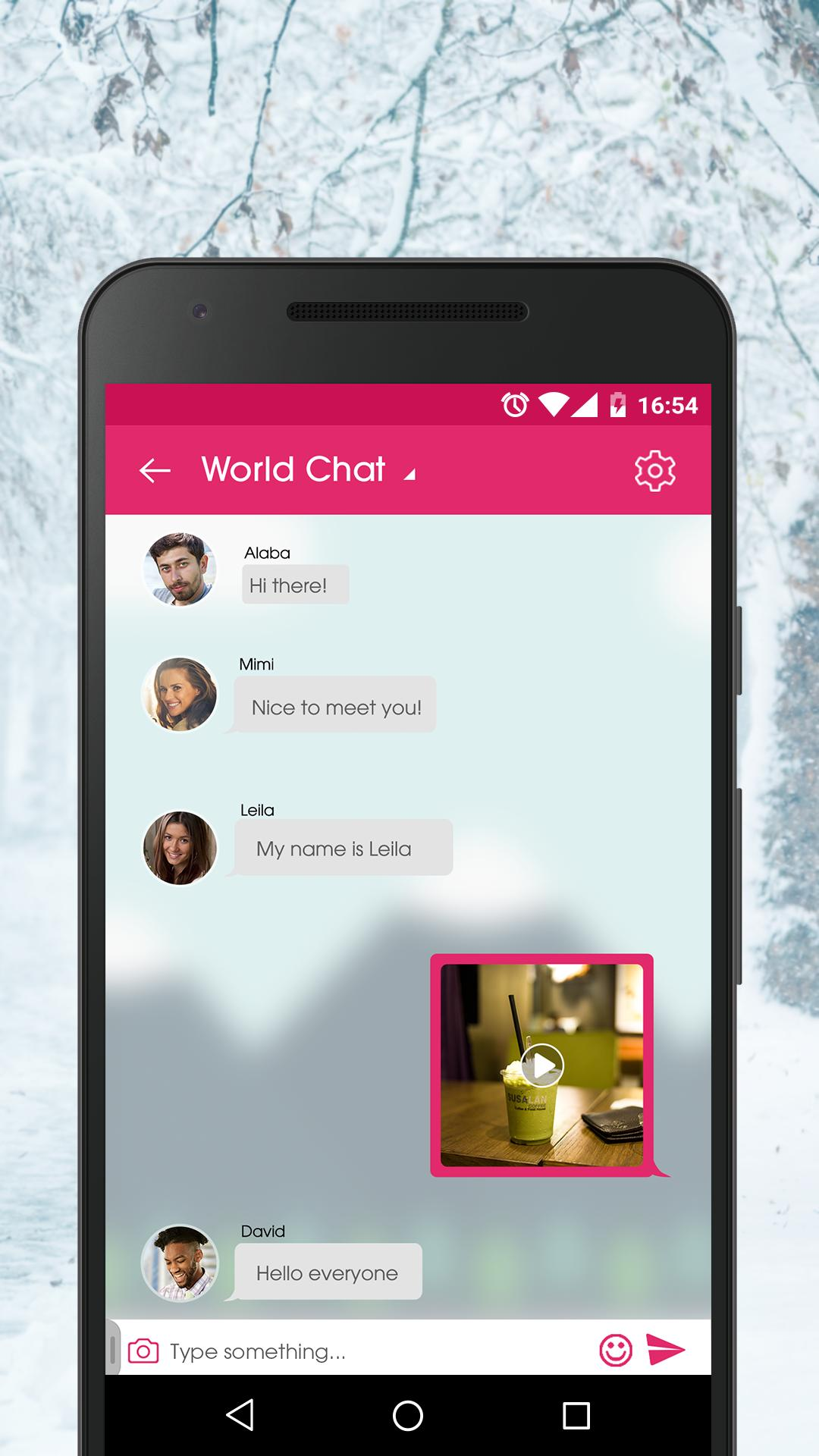 Beste android-dating-chat-app