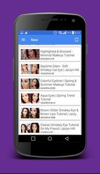 Makeup Tutorials <3<3 screenshot 2