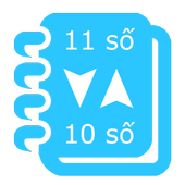 Đổi 11 số sang 10 số icon