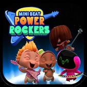 Mini beat power rockers game icon