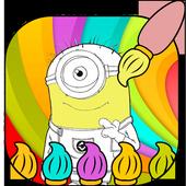 mini coloring icon
