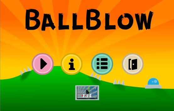 BallBlow poster