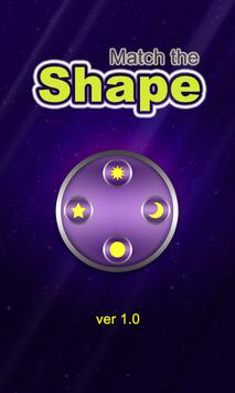 Match the Shape poster