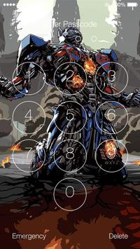 Transformers HD Lock Screen screenshot 3