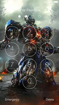 Transformers HD Lock Screen screenshot 1