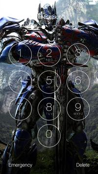 Transformers HD Lock Screen screenshot 7