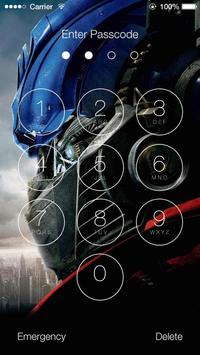 Transformers HD Lock Screen screenshot 5