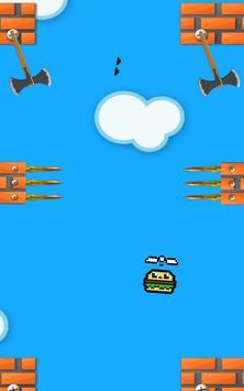 Hamburger fly apk screenshot