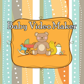 Baby Photo Video Maker Music icon