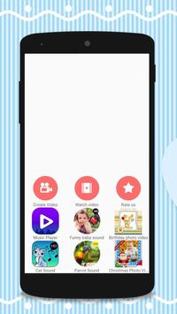 Baby Photo Video Maker Music poster