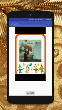 Birthday Photo Video Maker apk screenshot