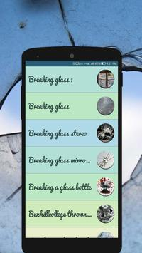 Breaking Glass Sound – Glass Crash Effects apk screenshot
