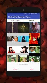 Halloween Photo to Video Maker poster