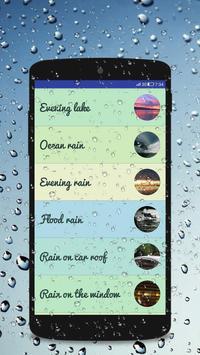 Rain Sounds - Sleep & Relaxing screenshot 1