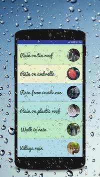 Rain Sounds - Sleep & Relaxing screenshot 2