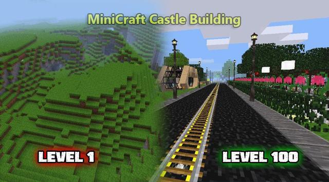 MiniCraft Castle Building imagem de tela 1