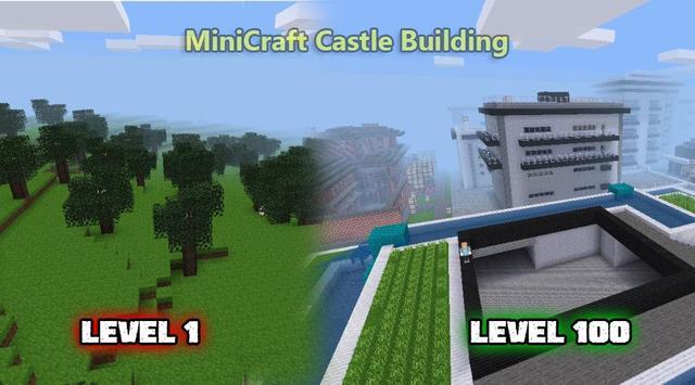 MiniCraft Castle Building imagem de tela 4