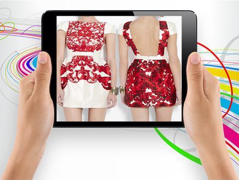 Mini Dress Design Ideas screenshot 11