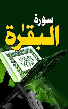 Surah Baqarah poster