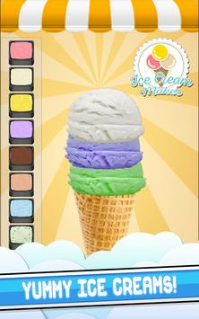 Frozen Ice Cream Cooking Game! poster